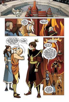 Comic book about zuko's mom!