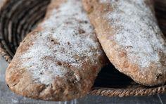 Rikke Gryberg's opskrift på grønsags-baguettes