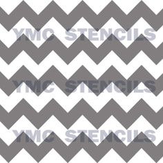 Large Chevron Stencil  8x8 by YourMemoriesCaptured on Etsy, $15.00