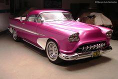 Classic Pink Automobile  ♥  http://Carwarninglight.com