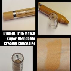 MichelaIsMyName: L'Oreal Perfection True Match Crayon Super-Blendab... Concealer, Loreal