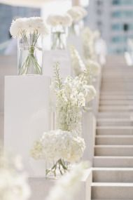 Modern Gray and Yellow Wedding at Malaparte - Style Me Pretty