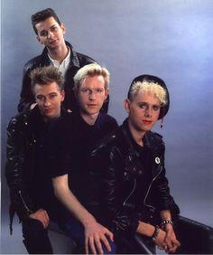 Depeche Mode, Dave Gahan, Martin Gore, Andy Fletcher, Alan Wilder