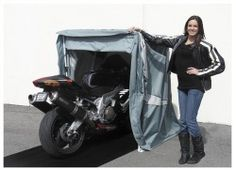 10 Best Motorcycle Storage Sheds of 2017  sc 1 st  Pinterest & Retractable Motorcycle Shed | Dual Sport Motorcycles | Pinterest ...