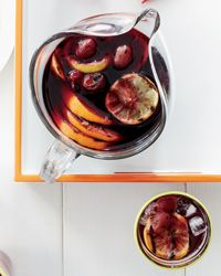 Grilled Citrus and Grape Sangria Recipe on Food & Wine