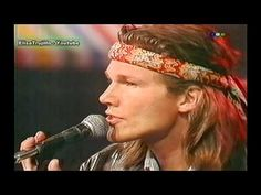 A - ha , Show ,1991 , I Call Your Name , TRIBUTE to MARCELO TINELLI , MORTEN HARKET LIVE - YouTube