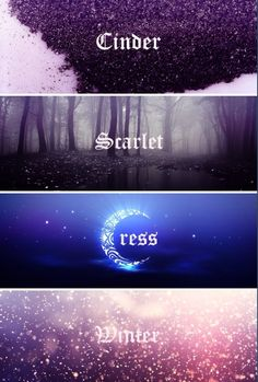- Marissa Meyer I haven't read this series yet, but I heard that it's really good. I'm really curious about it. Anyways, I just really liked this edit.