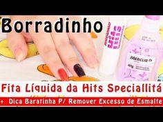 Fita Líquida Borradinho Speciallitá + Dica Barata P/ Remover Excesso Esm...
