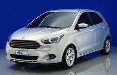 Novo Ford Ka é revelado - AUTO ESPORTE   Notícias