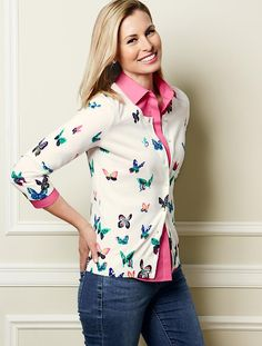 Talbots - Butterfly Charming Cardigan 2014