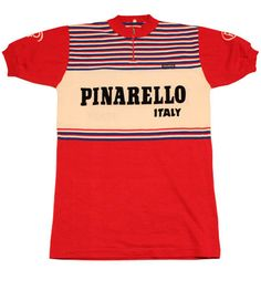 70's vintage PINARELLO cycle jersey made in Italy