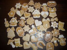 my Christmas gingerbread cookies