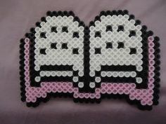 I love to read books Hama bead Hama Beads Design, Diy Perler Beads, Perler Bead Art, Pearler Beads, Fuse Beads, Pearler Bead Patterns, Perler Patterns, Kandi Patterns, Pixel Art