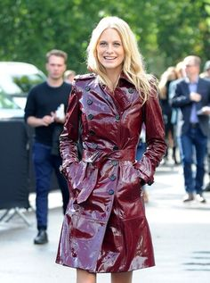Poppy Delevingne - LFW: Arrivals at Burberry Prorsum
