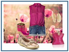 """""""My summer shoes: sperrys"""" by emery-kat on Polyvore"""