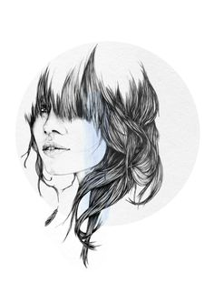 Personal work by Cheyenne Illustration, via Behance