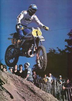 Jean Jacques Bruno # cross 80's # 1 # KTM