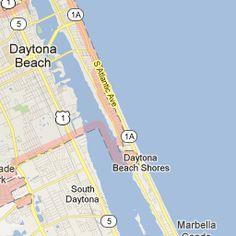 Daytona Beach Florida Area Near Boardwalk