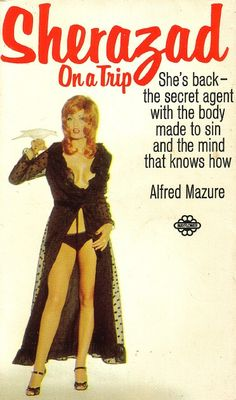 Sherazad On A Trip by Alfred Mazure