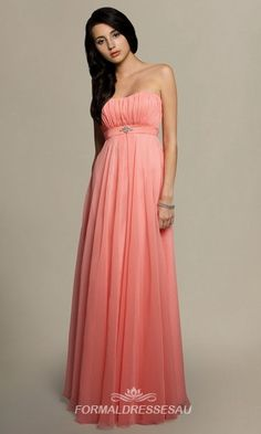 2013 Ruffled Neckline In Pink Floor Length Affordable Formal Dresses, Formal Dresses For Women, Bridesmaid Dresses, Prom Dresses, Bridesmaids, Maid Of Honour Dresses, Dresses 2013, Buy Dress, Strapless Dress Formal