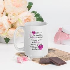 Mug - 15oz, Love One Another