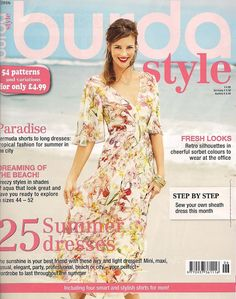 This listing is for the June 2016 issue of the Burda Style (formerly Burda World of Fashion) magazine. (English Language Edition) This magazine is an excellent value as every issue contains 45 or more looks for sewing all sorts of items, from women's clothing, women's plus sized and children's clothing. The June issue of BurdaStyle…