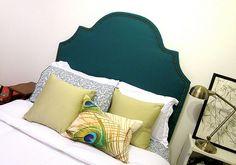 DIY Headboard Ideas: Upholstered or Wood Plank - Becoming Martha