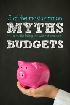 5 Common Myths about Budgeting! Easy Money Saving Tips and How to Create Your Budgeet!
