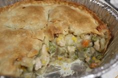Chicken Pot Pie (freezer meal)