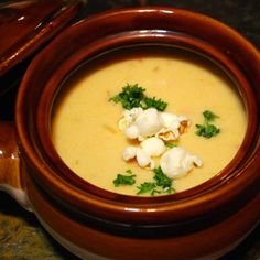 European Street Style Beer Cheese Soup