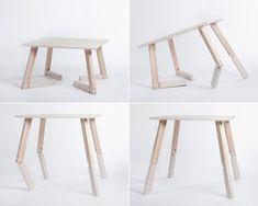 Mesa Bambi, la mesa plegable articulada. Decoración del hogar.