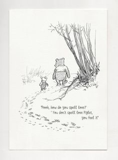 Pooh, how do you spell love? - Winnie the Pooh Quotes - classic vintage style poster print White Things mi 5 white color Winnie The Pooh Classic, Winnie The Pooh Quotes, Vintage Winnie The Pooh, Quote Prints, Poster Prints, Cute Captions, Classic Quotes, Loss Quotes, Loss Of Mother Quotes