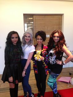 Little Mix supports the Paul Strank Roofing Photothon with Pudsey! #cin #pudsey #photothon