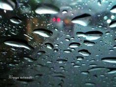 Rain splatter