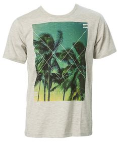 Farmerl Mens Fashion Summer T Shirt Leaf Sleeve Tops Casual Patchwork Shirts