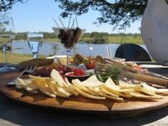 We love the cheese tray Chitwa Chitwa - perfect for a relaxing lunch! (South Africa)