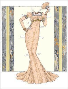Donald Hendricks Paper Dolls | Josefina Bonaparte | Gabi's Paper Dolls