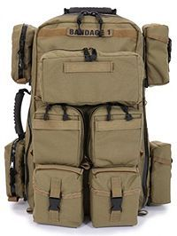 R&B Tactical Medical Backpack with Pouches