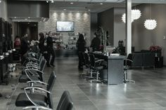 Salon Davoe Designed By David Brown, A & A BEauty Supplies & Design