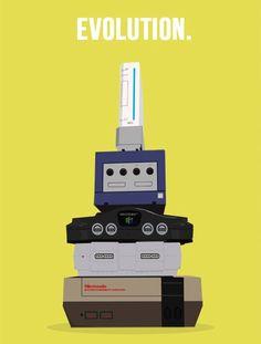 Ah, the memories: NES, Super Nintendo, N64, Gamecube, and Wii