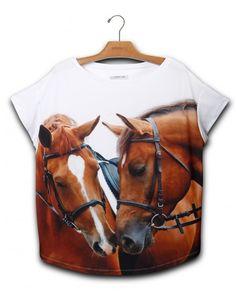 Blusa Premium Quadrada Dois Cavalos | UseNatureza.com