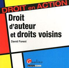 Droit d'auteur et droits voisins de David Forest