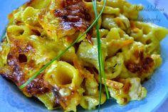 Koivulehdossa: Äidin lempiruoka eli broileripastavuoka Macaroni And Cheese, Zucchini, Food And Drink, Meat, Chicken, Vegetables, Ethnic Recipes, Cook
