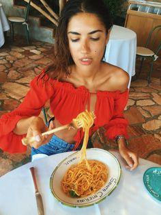 Patricia Manfield in Amalfi