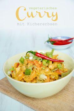 Rezept vegetarisch Curry