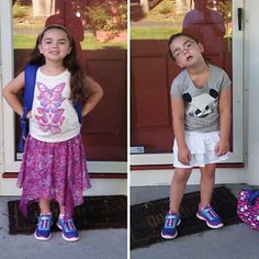 First And Second Day At School