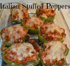 Carissa's Collections: Italian Stuffed Peppers