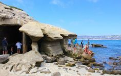 One of few natural caves in La Jolla. - Read more here: http://theamateurexpert.com/10-things-to-do-in-san-diego-california-in-june/ #la jolla #pacific ocean #caves
