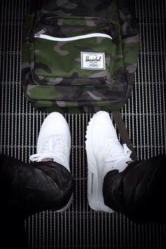 Nike Airmax Hyperfuse -- White