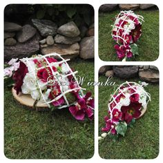 Creative Flower Arrangements, Funeral, Flora, Diy, Design, All Saints Day, Bricolage, Plants